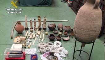 Decomisan 41,000 objetos de arte en operativos policiales en 81 países