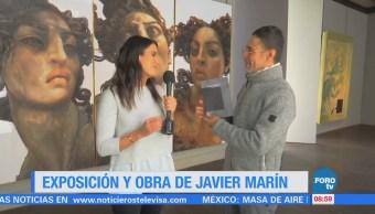 Obra del artista michoacano Javier Marín