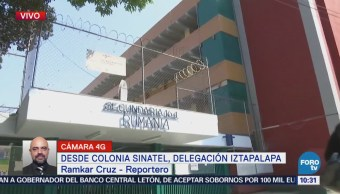 Padres de familia piden nuevo dictamen estructural de secundaria en Iztapalapa