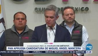PAN aprueba candidatura de Miguel Ángel Mancera
