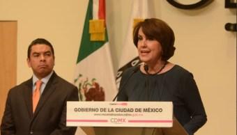 Renuncia Patricia Mercado Secretaría de Gobierno CDMX Senado