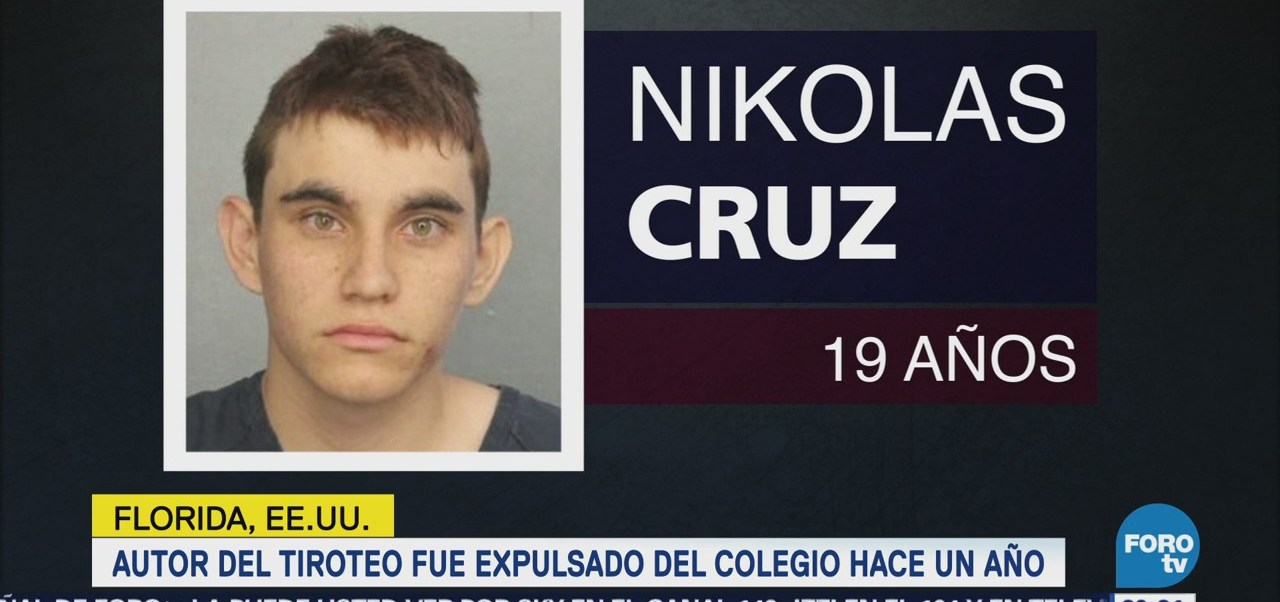 Perfil de Nikolas Cruz, tirador de Florida