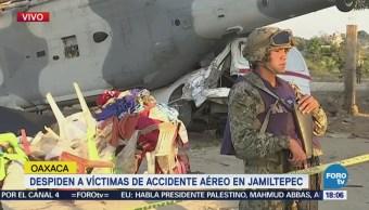 Permanece Acordonada Zona Accidente Aéreo Oaxaca