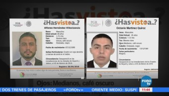 Pgr Informa Sobre Desaparición Dos Agentes Viajaron Nayarit