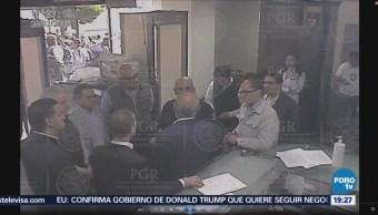 PGR revelan video de Anaya y comitiva en SEIDO