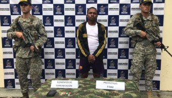 Capturan guerrillero de ELN que planeaba atentar contra militares colombianos
