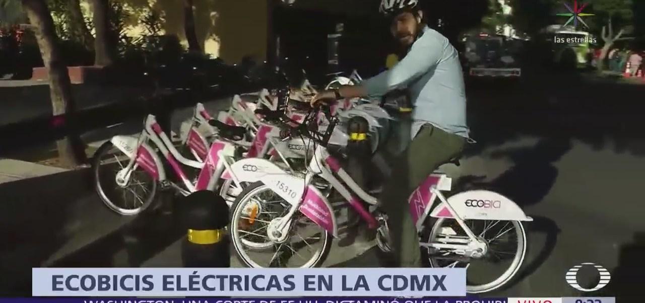 Ponen en circulación nuevas ecobicis eléctricas en CDMX