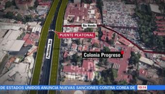 Procuraduría investiga aparición de manta en Periférico Sur, CDMX