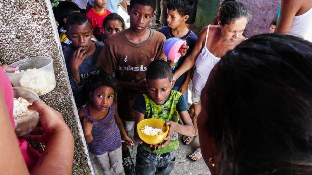 Detienen ocho personas prostituir niños comida Venezuela