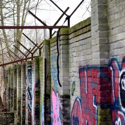 Protegen tramo del Muro de Berlín hallado en enero