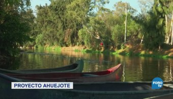 Proyecto Ahuejote sobre agricultura en las chinampas de Xochimilco