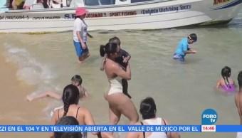 Puerto Escondido, entre los destinos favoritos por turistas