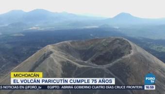 Volcán Paricutín Cumple 75 Años