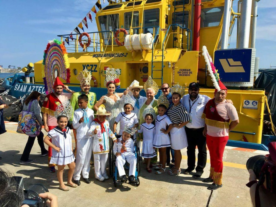 Regresa desfile náutico al Carnaval de Veracruz