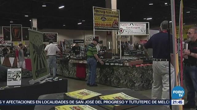 Realizan Feria Armas Tres Días Masacre Escuela Florida