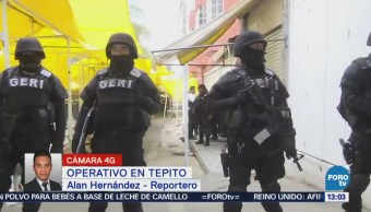 Realizan Operativo Contra Narcomenudeo Mercado Tepito Cdmx