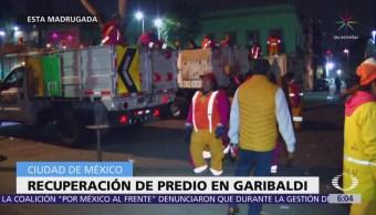 Recuperan predio que operaba como centro de espectáculos en Garibaldi, CDMX