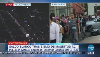Red Alertas Sísmicas Oaxaca Está Recuperada Cires