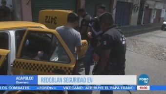 Refuerzan Seguridad Acapulco Fin De Semana, Agentes Federales Estatales