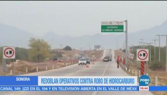 Refuerzan Operativos Contra Robo Combustible Sonora