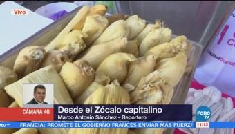 Regalaran 21 Mil Tamales Zócalo Cdmx