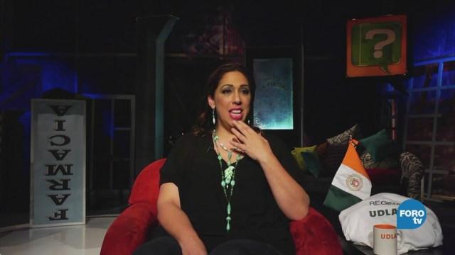 Regina Orozco en 'El Interrogatorio'Regina Orozco en 'El Interrogatorio'