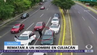 Rematan a un hombre en Culiacán, Sinaloa