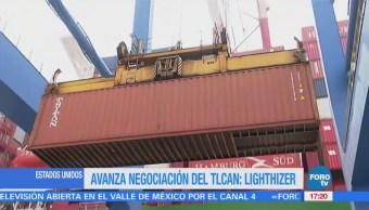 Renegociación Tlcan Mejor México Canada Lighthizer