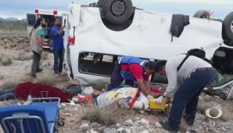 Reportan fuera de peligro a 'Marichuy', tras accidente carretero
