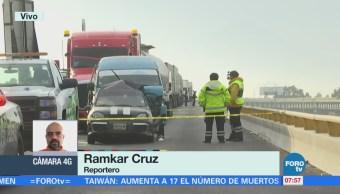 Reportan Muertos Varios Heridos Choque Autopista México Puebla