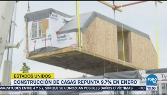 Repunta Construcción Casas Estados Unidos