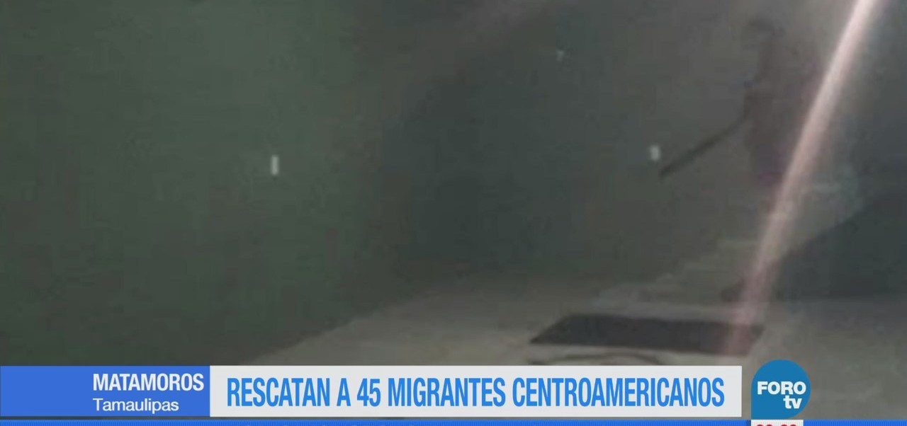 Rescatan a 45 migrantes centroamericanos en Tamaulipas