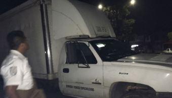 Rescatan en Veracruz a 40 migrantes hondureños dentro de camión