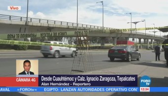 Retiran Cuerpo Mujer Asesinada Calzada Zaragoza