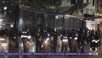 Retiran puestos irregulares en Tepito, CDMX