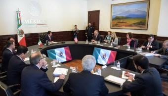 Peña Nieto se reúne con Rex Tillerson en Los Pinos