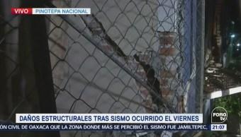 Revisan Casas Dañadas Sismo Pinotepa Nacional Oaxaca