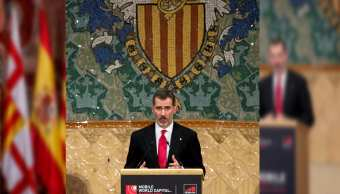 Rey de España llama a cooperación entre Gobierno y Cataluña