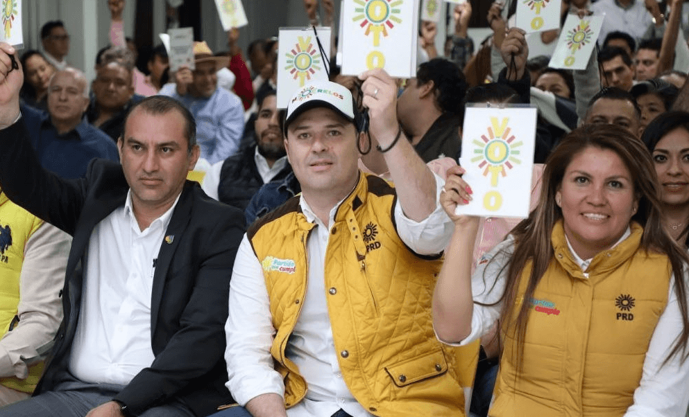 PRD designa a Rodrigo Gayosso como candidato al gobierno de Morelos