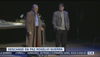Muere Rogelio Guerra, estrella de cine, teatro y televisión en México