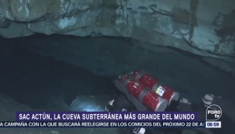Sac Actun, la cueva subterránea más grande del mundo