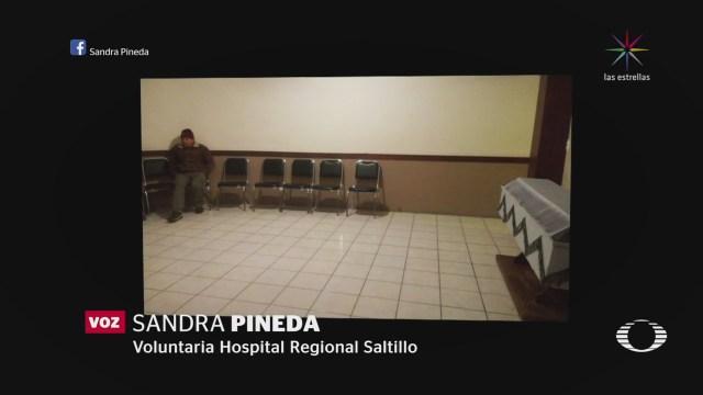 Saltillo Solidariza Viudo Funeral Esposa