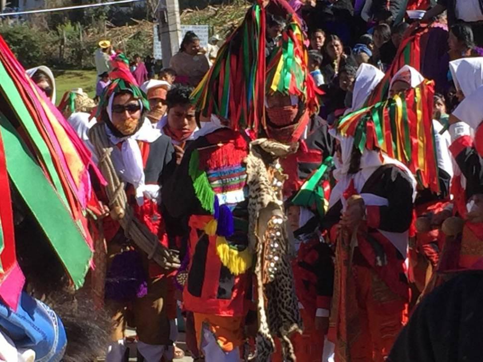 Celebran ritual del Fuego Nuevo en San Juan Chamula, Chiapas