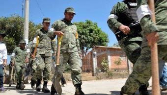 Ejército inicia reconstrucción de casas de víctimas por accidente de helicóptero