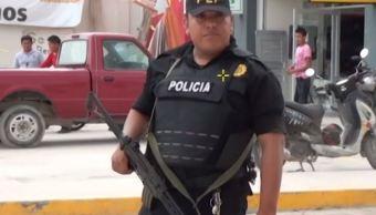 Fuerzas federales y estatales refuerzan la seguridad en Campeche