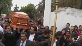 Sepultan a Francisco Rojas, precandidato del PRI en Edomex
