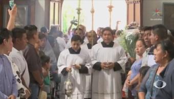 Sepultan a sacerdotes asesinados en Guerrero