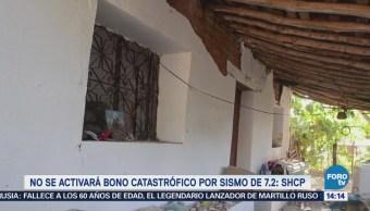 Shcp Activará Bono Catastrófico Sismo 7.2 Grados