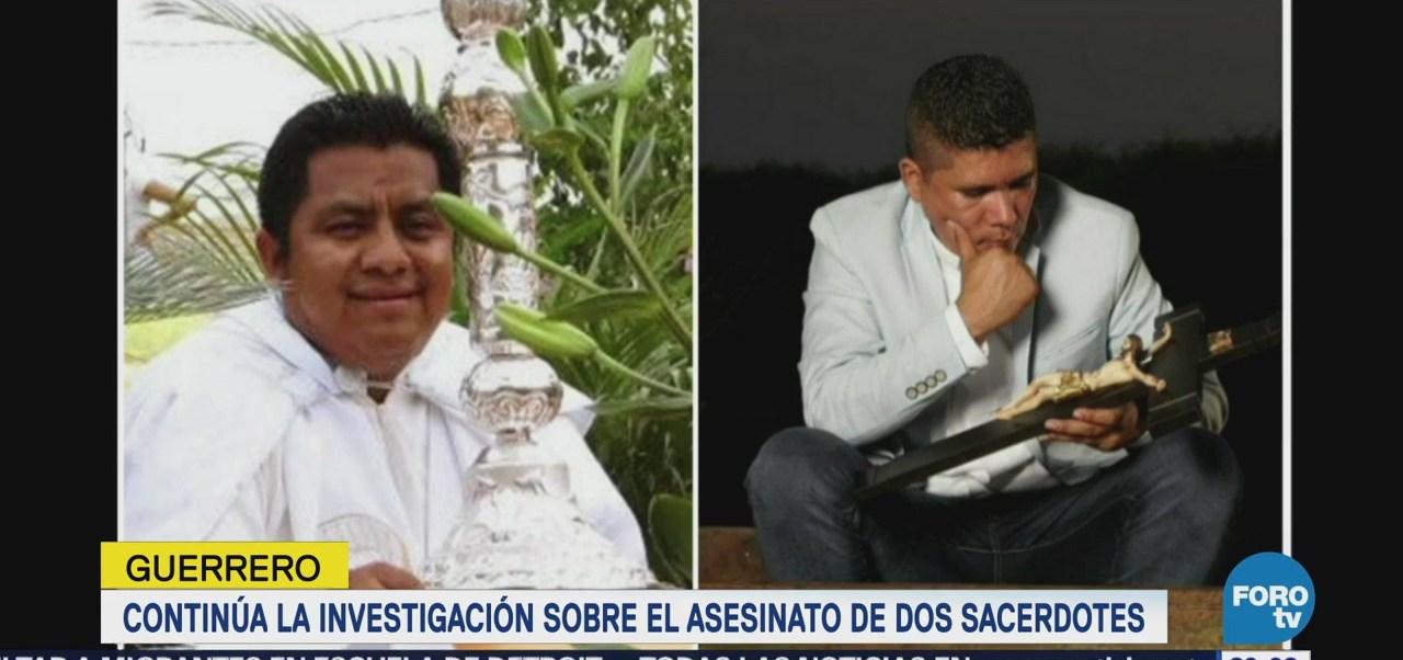 Sigue investigación por asesinato de sacerdotes en Guerrero