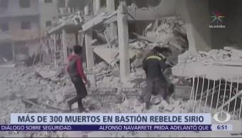 Siguen Bombardeos Guta, Muerto 30 Personas Domingo